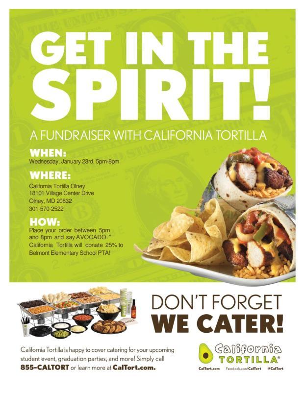 caltor fundraiser flyer 01.23.19